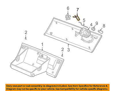GM OEM Glove Compartment Box-Latch Striker 15295943
