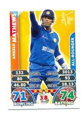 2015 Topps Cricket Attax ICC World Cup #113 Angelo Mathews - Sri Lanka