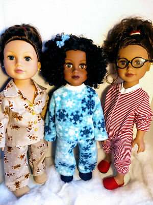 "Celebrate Red-White-Blue Stars /& Stripes Holidays for 18/"" Journey Girl Dolls"