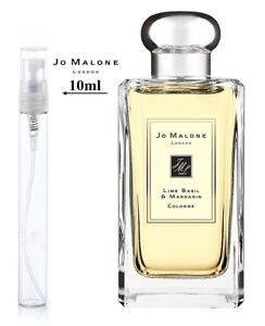 Detalles de Jo Malone London Lime Basil Mandarin Colonia 10ml Nebulizador & muestra no 5ml ver título original