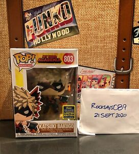 Funko-Pop-Animation-803-Katsuki-Bakugo-SDCC-2020-Shared-Not-Mint