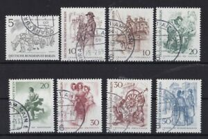 Berlin Estampillé Minr. 330-337 De Berlin Du 19. Siècle-afficher Le Titre D'origine