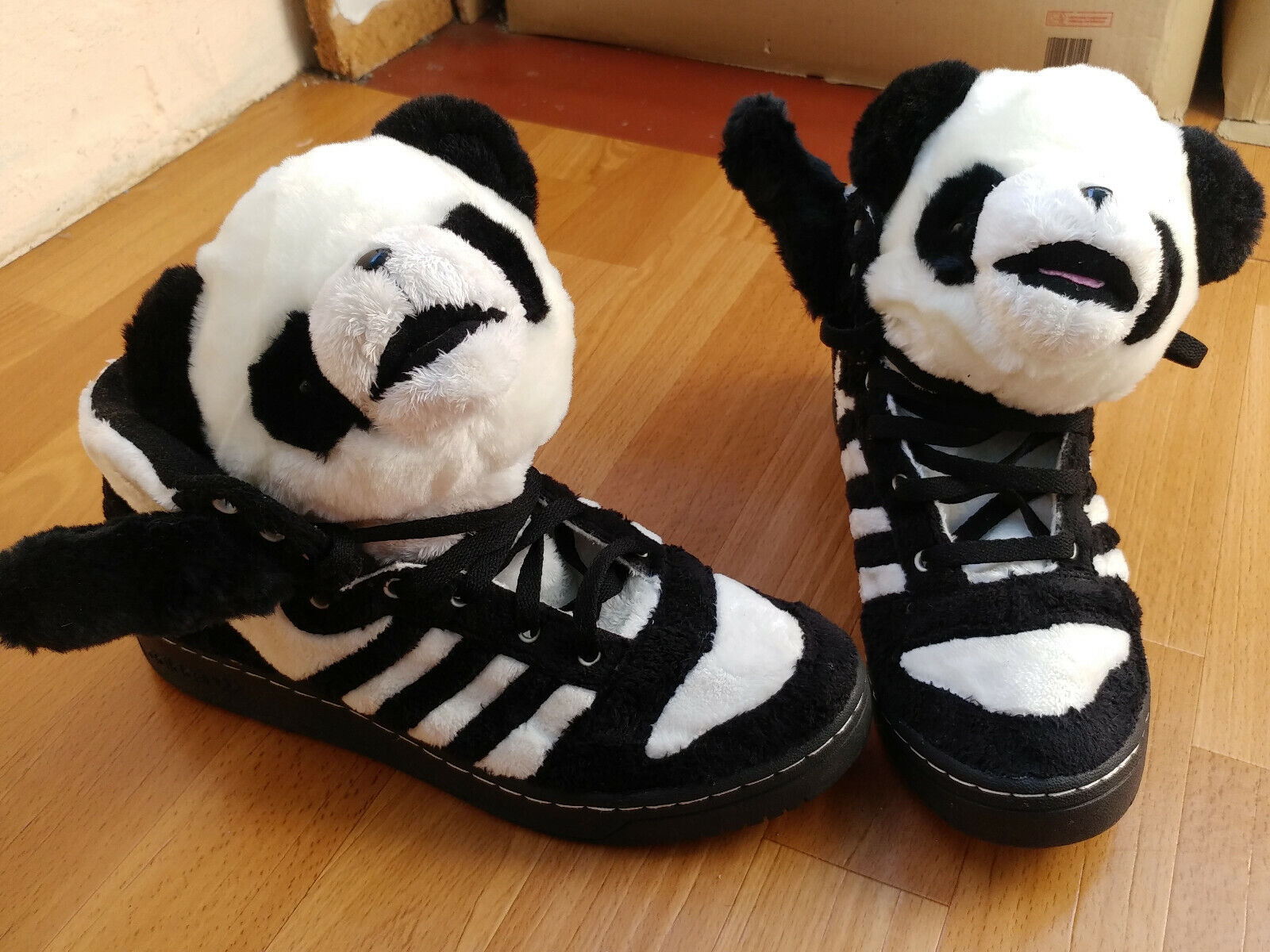 Adidas original obyo Jeremy Scott Bear panda camuflaje u 42612