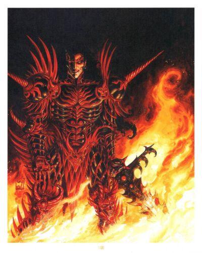 Affiche Offset  Démon guerrier Daniel Maghen