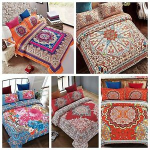 4Piece-Complete-Set-Duvet-Cover-Bohemian-Asian-Arab-Style-design-patterns