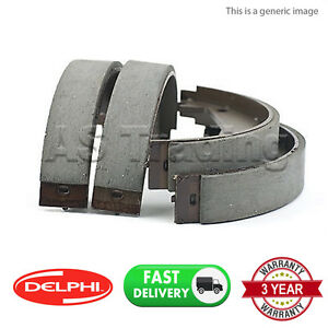 REAR-DELPHI-LOCKHEED-PARKING-BRAKE-SHOES-FOR-CHRYSLER-300-C-2004-12