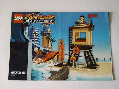 Instruction Nr Lego® Bauanleitung 6736