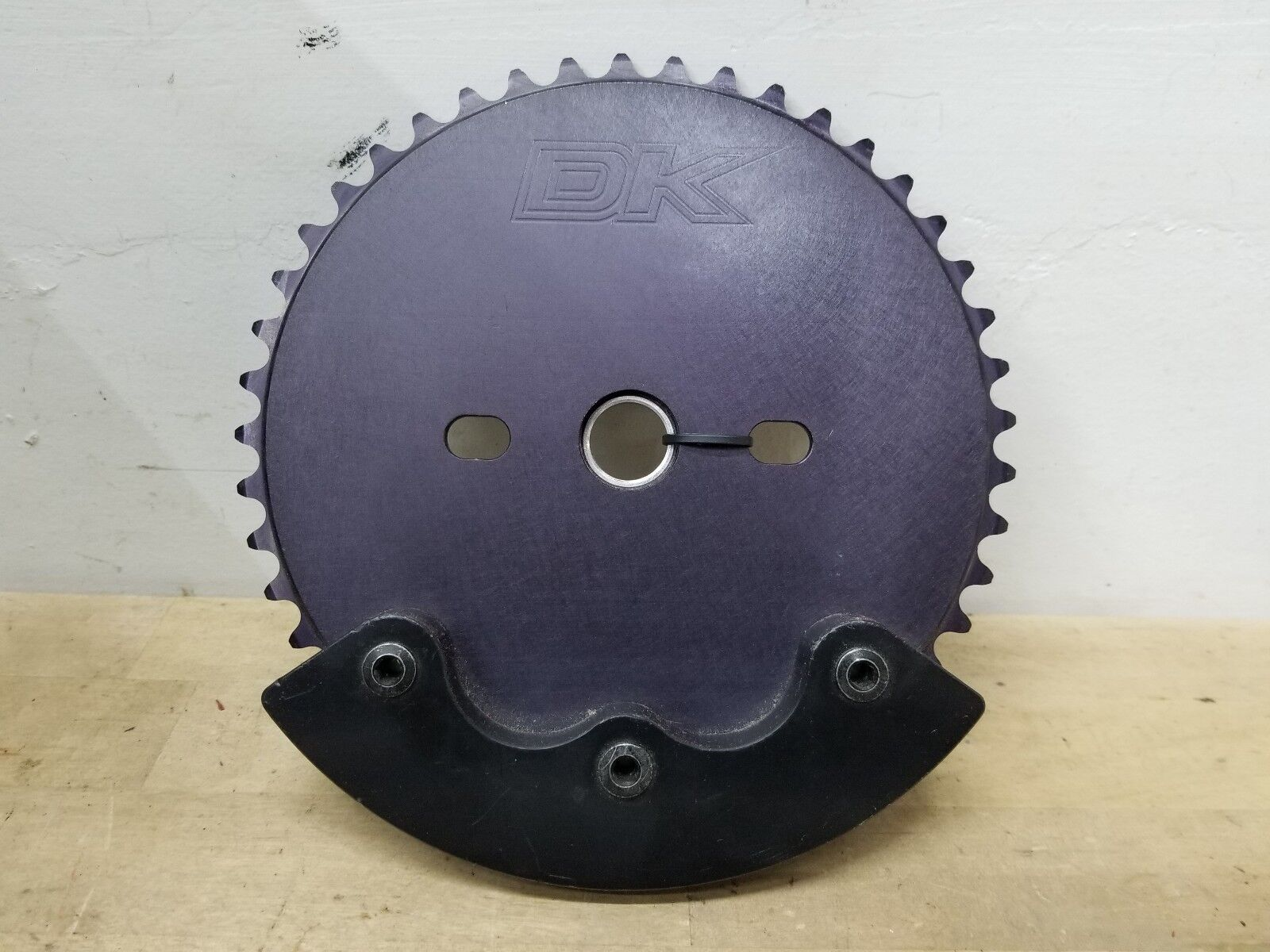 DK Bikes Bicycle Bash guard  BMX  Sprocket 45T Mid Old School Chainring NOS