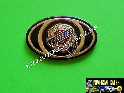 CHRYSLER 300 OVAL GOLD EMBLEM BADGE LOGO WING FRONT GRILLE 2005-2010 MOPAR NEW