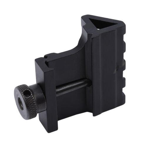45 Degree Offset Mount Rail Air soft Rifle 4 Slot Rail  Quick Release jian