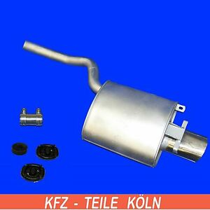 R170-Mercedes-SLK-200-230-Kompressor-100-120-145-KW-ENDSCHALLDAMPFER-Set