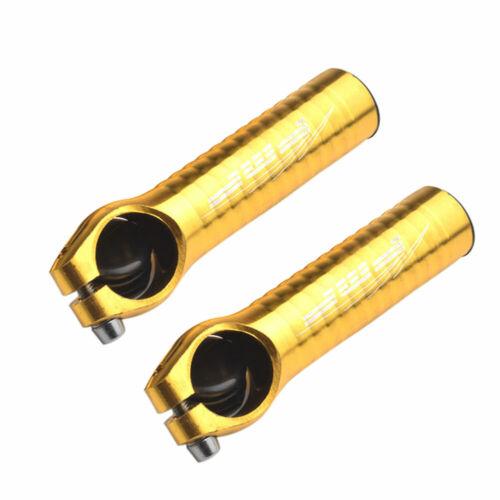 1 Pair Ergonomic Ultralight Accessories Bicycle Handle Ends Aluminum Alloy