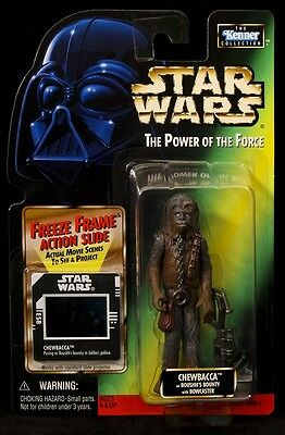 Star Wars Power of the Force Chewbacca Freeze Frame Action Figure MOC
