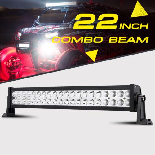 "22/"" 280W CREE LED WORK LIGHT BAR SPOT FLOOD OFFROAD ATV UTV FOR POLARIS YAMAHA"