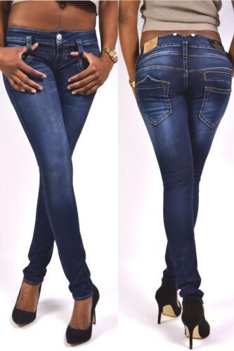 genialste Herrlicher PITCH SLIM Jeans dunkelblau D9668 Clean 24//25//27//29//30//31