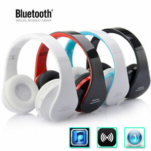 Foldable-Wireless-Bluetooth-Stereo-Headset-Headphones-Mic-Universal-US-Stock-UP