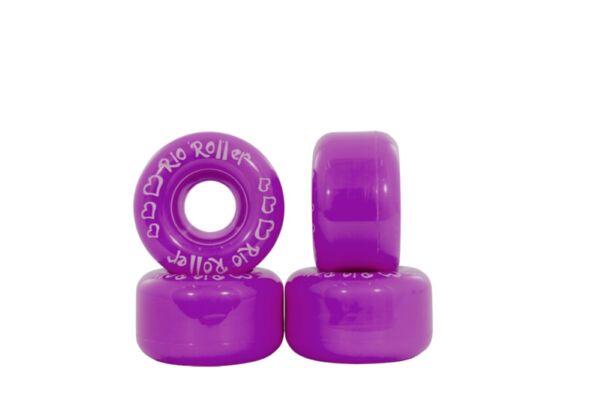 Caritatevole Rio Roller - Sottobicchiere Ruote - Viola- Colorato Skate - Confezione Di 4 Sangue Nutriente E Regolazione Dello Spirito