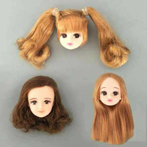 Kids Toy Doll Head /& 14 Joints Moveable BJD Doll Body For Licca Doll 1//6 Dolls