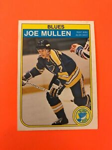 Joe-Mullen-1982-83-O-Pee-Chee-Rookie-Hockey-Card-307-Wow-See-Photos