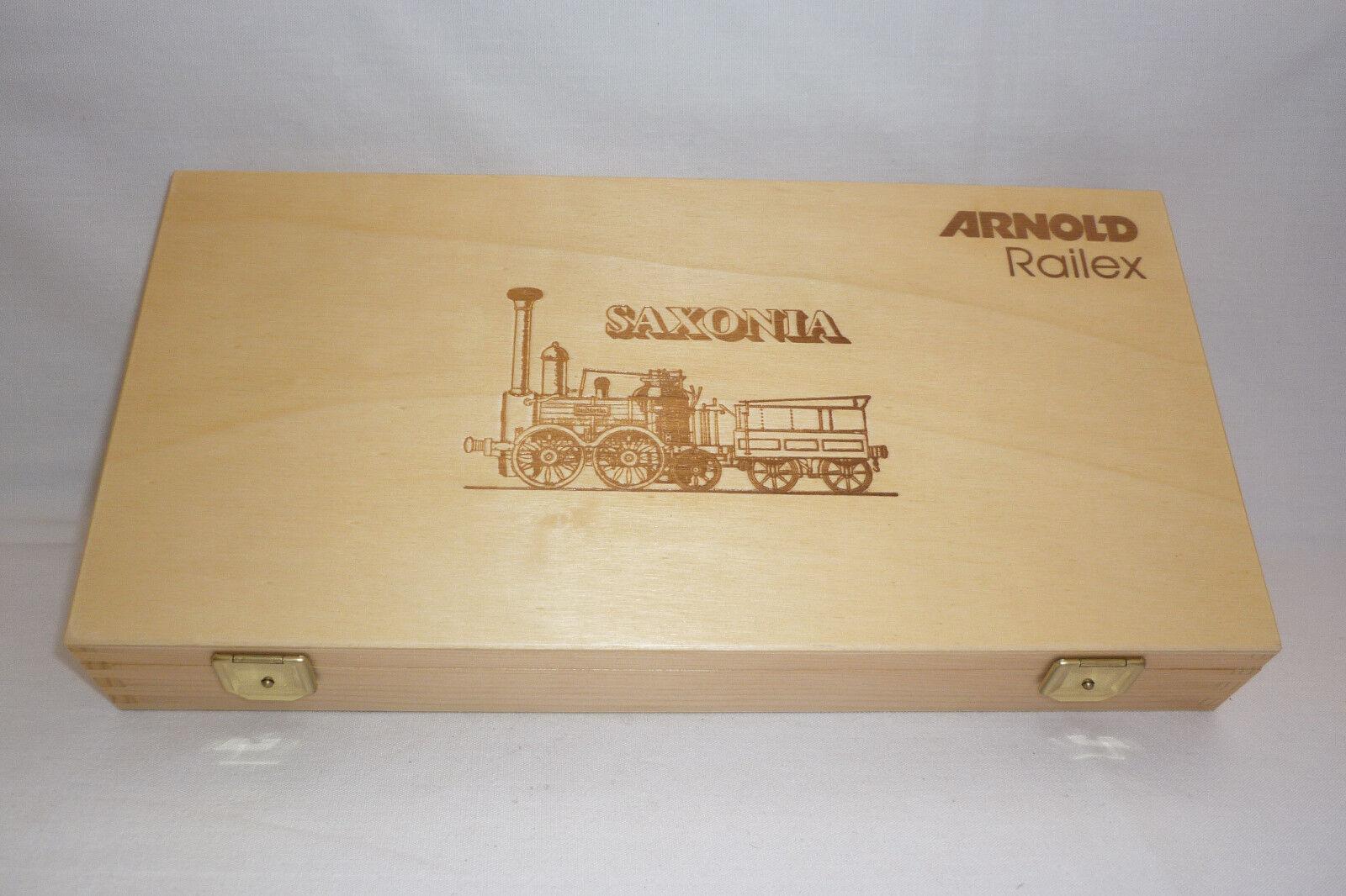 Arnold - scala N - modellkoffer SASSONIA modellino ferrovia - conf. orig. -