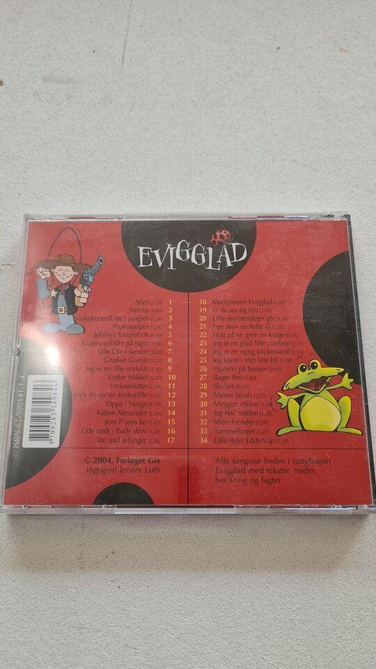 #// Nanna Fra MGP: CD : Evigglad - Børnenes bedste sange fra