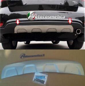 FIAT-Freemont-Argento-Paraurti-posteriore-piastra-paramotore