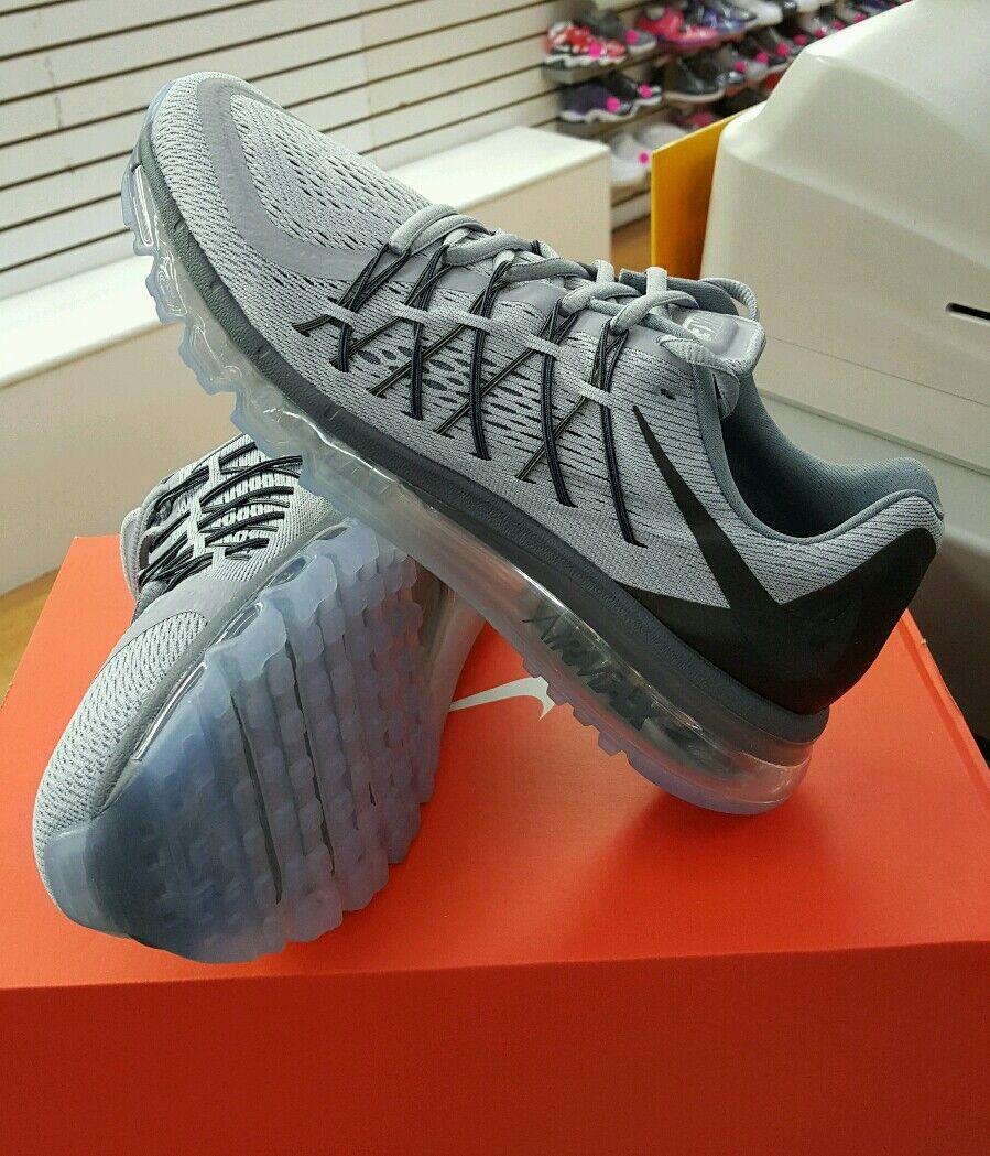 Nike Air Max 2015 (Men) Wolf GreyDark GreyCool Grey