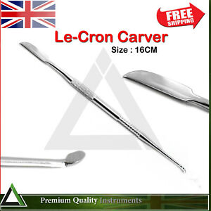 Dental Laboratory Carver Lecron Lab Technician Wax & Modelling Carving Knife