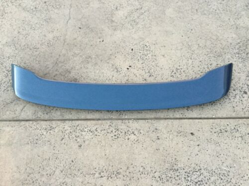 FORD FG SEDAN BOOT LID SPOILER W BRAKE LIGHT WING BLUE XR6 XR8 FG2 FALCON XT