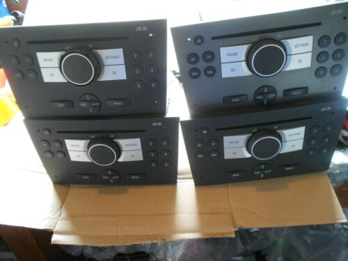 VAUXHALL CD 30  CD PLAYER  05-08 BLAUPUNKT MODEL WORKS FINE IN GREY