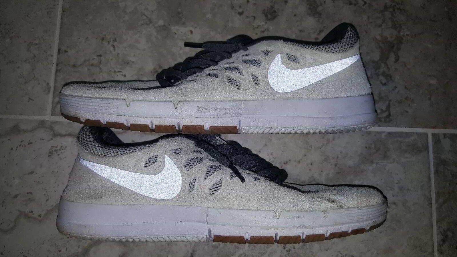 Nike libera sb vela grey Uomo skateboard scarpe scarpe 704936-101 sz us9 uk8