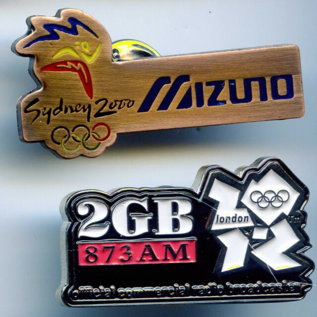 SYDNEY 2000 OLYMPIC GAMES AUSTRALIA - MIZUNO + 2GB LONDON - GREAT COLLECTIBLES