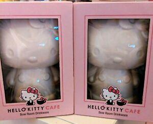 2-pcs-Hello-Kitty-Grand-Cafe-Bow-Room-Exclusive-Drinkware-Tiki-Mugs