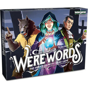 Werewords Card Game the Hidden Identity Word Game for 4 to 10 Players Ages 8+