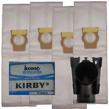 HEPA Cloth F STYLE 4 Vacuum Bags for Kirby Vacuum Cleaner Sentria I II 2 204808
