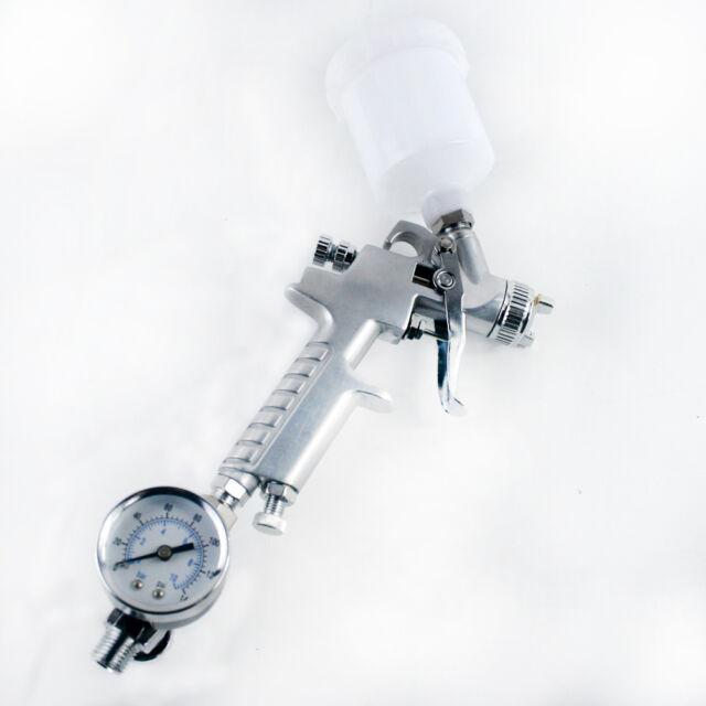 Scratch Doctor HVLP Gravity Feed Spray Paint Repair Gun & Mini Air Regulator