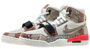 competitive price b5aaf 8ddb1 Image is loading Nike-Air-Jordan-LEGACY-312-sail-desert-Camo-