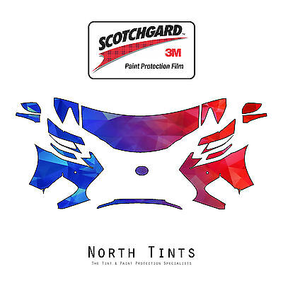 3M Scotchgard Paint Protection Film Clear Bra Pre-Cut 2016 2017 Lexus GS F-Sport