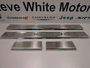 11 16 dodge charger new door sill guards stainless steel for Steve white motors hickory north carolina