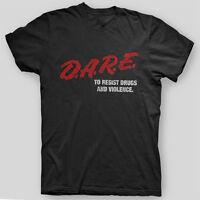 Dare Drug Free Youth Sxe Chain Of Strength Xxx Straight Edge T-shirt Sizes S-5x