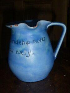 Delightful Rare Antique Baron Barnstaple Pottery Motto ...