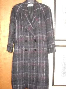 Vintage Women's Raffinati Wool and Mohair Jacket Coat
