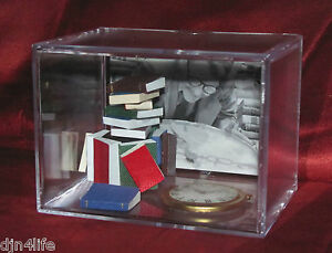 THE-TWILIGHT-ZONE-TIME-ENOUGH-AT-LAST-HENRY-BEMIS-COLLECTIBLE-UNIQUE-DISPLAY