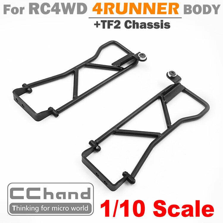 CC He Metal TUBE Doors FOR RC4WD 4correreNER corpo +  TF2 Chassis  risparmia fino al 70%