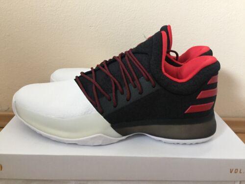 Performance Basketball Harden Light Scarlet Adidas Vol Shoe Bw0546 Black White 1 Kc1JTlF