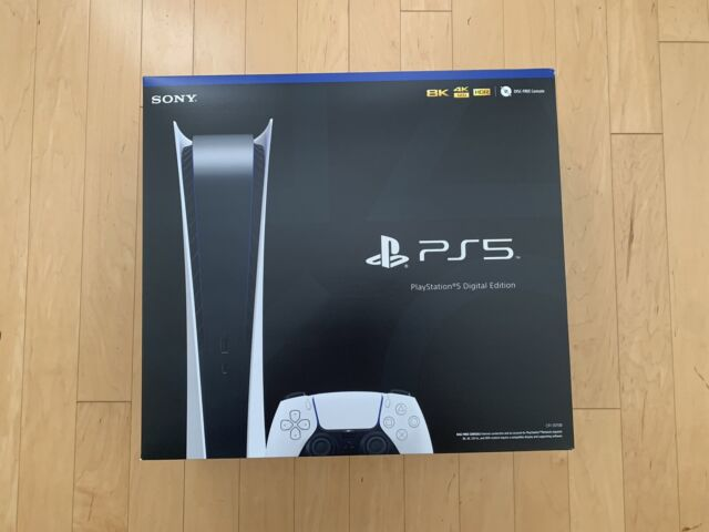 BRAND NEW SONY PLAYSTATION 5 DIGITAL EDITION CONSOLE - (IN HAND) READY TO SHIP