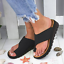 Women-Comfy-Platform-Sandal-Shoes-PU-LEATHER-Bunion-Corrector thumbnail 10
