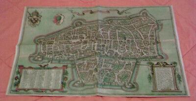 Clever Weltstadt Augsburg Des 16. Jahrhunderts Aus Der Vogelperspektive - Replikat