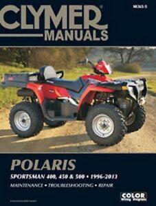 clymer repair service manual polaris sportsman 500 ho 01 06 08 13 rh ebay com 1997 polaris sportsman 500 service manual pdf 1997 polaris sportsman 500 service manual pdf