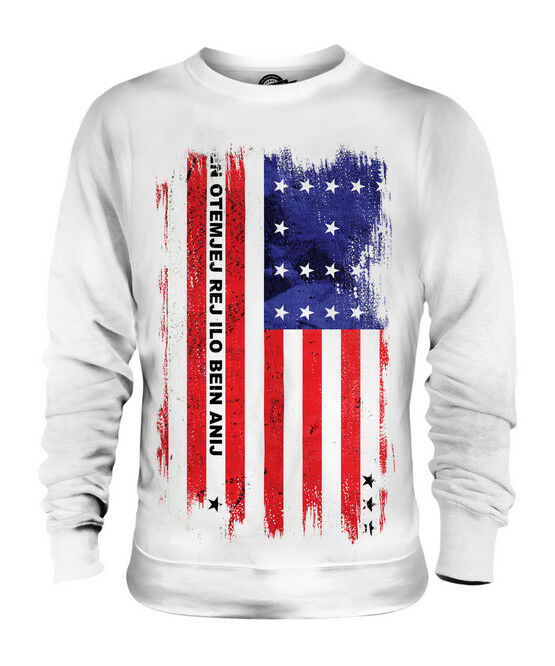 BIKINI ATOLL GRUNGE FLAG UNISEX SWEATER TOP FOOTBALL GIFT SHIRT CLOTHING